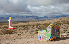 Rhyolite Public Art - Couch & Nude (5313)