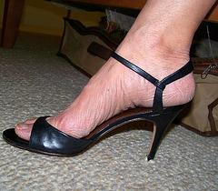 wife's banana republic heels