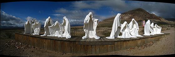 Rhyolite Public Art - Last Supper (1)
