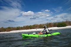 Kayaking On The Salton Sea (0750)