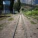 jogging on tracks