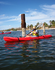 Kayaking On The Salton Sea (0775)