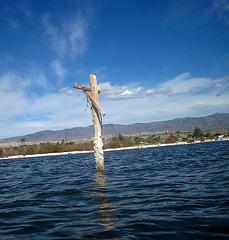 Kayaking On The Salton Sea (0788)
