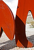 Rhyolite Public Art - Miner & Penguin (5326)