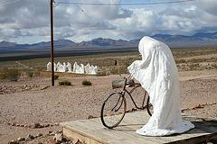 Rhyolite Public Art - Ghost Rider (5331)