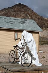Rhyolite Public Art - Ghost Rider (5332)
