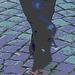 Dimani Swedish blond Lady in Dominatrix Boots /  Blonde suédoise en bottes à talons aiguilles -  Ängelholm / Suède - Sweden.   23-10-2008 - Postérisation