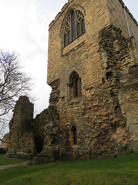 old bishops palace, lincoln
