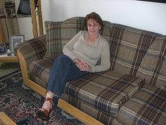 Mon amie Elisabeth en talons hauts /  My friend Elisabeth in high heels / Mi amiga  Elisabeth en zapatos cvon tacones altos.