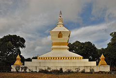 The Chedi on to the Phou Fa hill