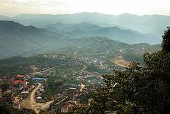 Panoramaview to Phongsali