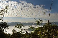 Amazing cloudscape over Phongsali