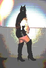 Lady Roxy avec / with permission -  Catwoman - Version postérisée