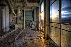 window in the 9th floor