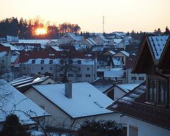 Sonnenuntergang 2010-03-07
