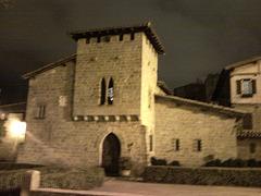 Pamplona: mesón del Caballo Blanco.