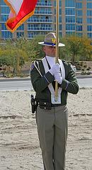 I-10 Interchanges Groundbreaking - Color Guard (4147)