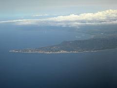 Anflug auf Zypern