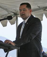 I-10 Interchanges Groundbreaking - Assemblyman Perez (4154)