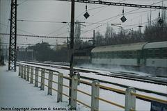 Express Pan in Snow at Nadrazi Hostivar, Picture 3, Prague, CZ, 2010