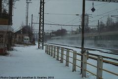 Express Pan in Snow at Nadrazi Hostivar, Picture 4, Prague, CZ, 2010