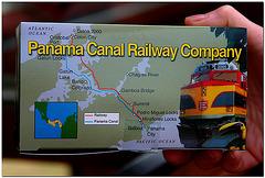Panama Canal Railway Train