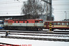 CD #'s 751004-3 and 451004-? in the Snow, Picture 2, Cercany Bohemia (CZ), 2010