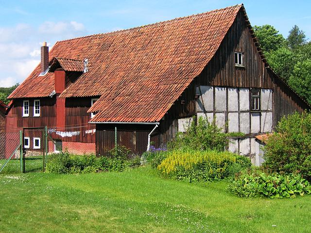 Kampara domo en Herzberg (Germanio)