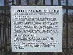Cimetière St-André Apôtre