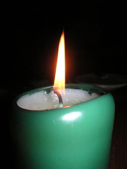 Kerze - kandelo