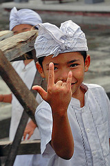 Balinese youngster