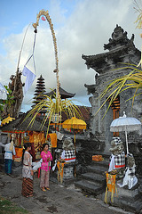 In front of the Luhur Ulun Siwi temple
