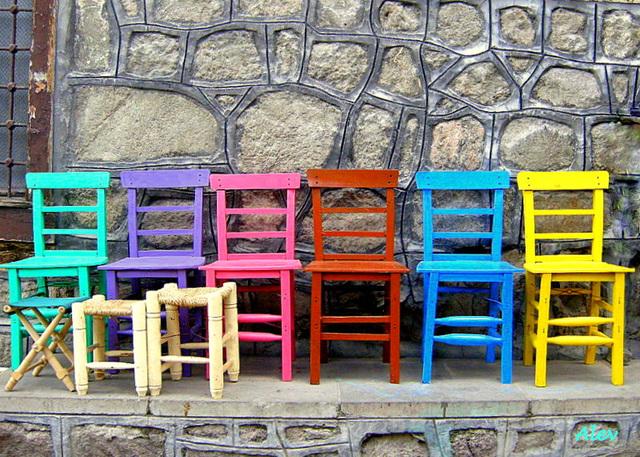 Sandalye... Karekla... Chair...