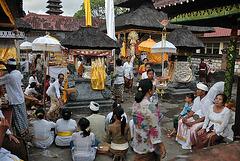 View inside the Luhur Ulun Siwi temple
