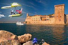 Chris arrive à Marseille!Allez vaï Marseille A l'ombre ou au soleil Bois ton pastis et chante