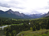 A view from Kananaskis Village