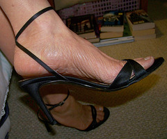 wife's ann taylor heels