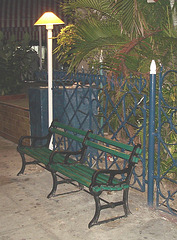 Banc cubain / Cuban bench