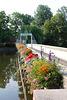 Brücke des Inselzoos in Altenburg