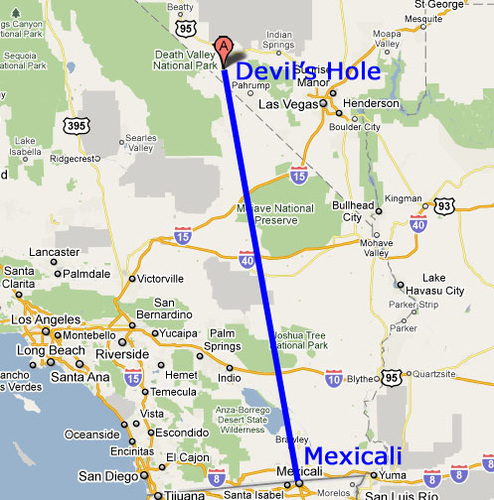 Mexicali to Devils Hole