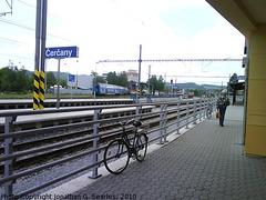 Bike in Nadrazi Cercany, Cercany, Bohemia (CZ), 2010