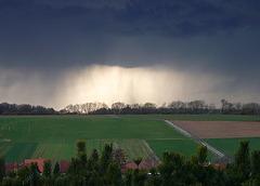 Ein Gewitter kommt näher