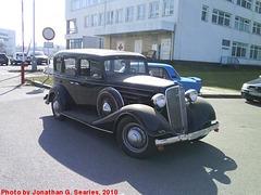 '34 Chevy in Sidliste Opatov, Prague, CZ, 2010