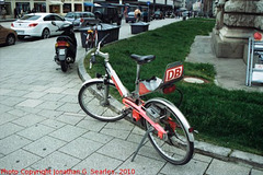 DB Bike, Munchen (Munich), Bayern, Germany, 2010