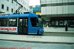 Tram in Munchen (Munich), Picture 2, Bayern, Germany, 2010