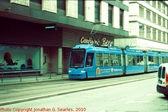 Tram in Munchen (Munich), Picture 3, Bayern, Germany, 2010