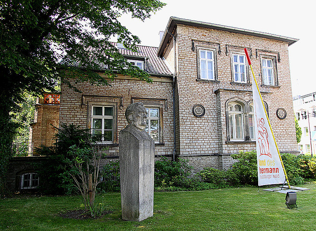 20100624 6054Ww Landesmuseum DT, Büste: Richard Wagner