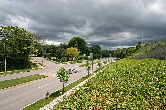 Rockhill Road alongside Nelson-Atkins Museum (7300)