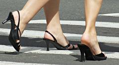 walking close up