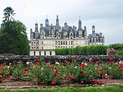 P6100093ac Distant Rear View of Chambord Royal Castle